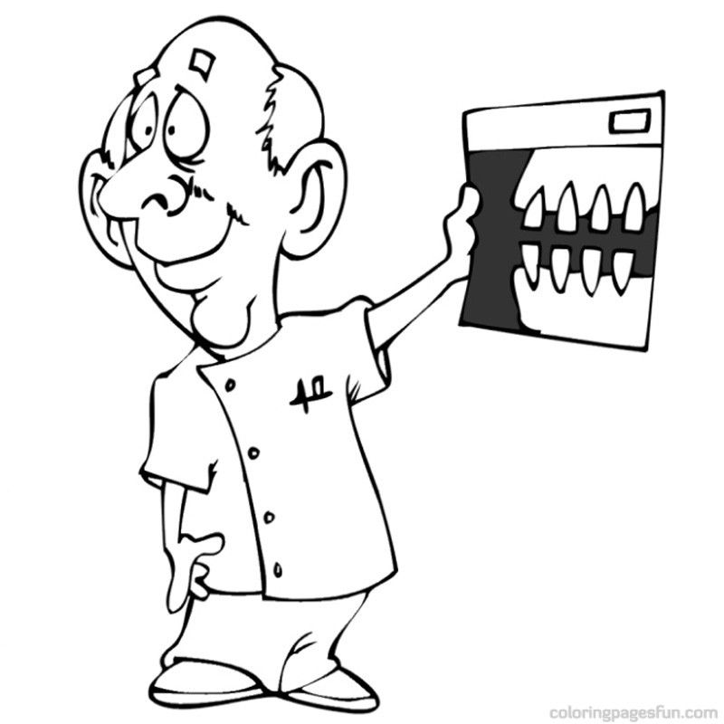 Dental Coloring Pages | #23 Free Printable Coloring Pages For Kids