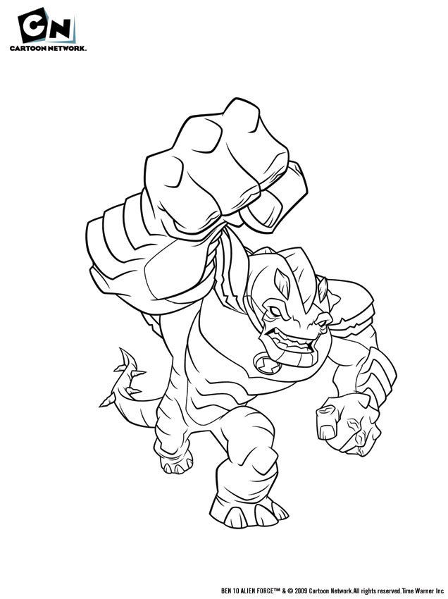 Ben10 alien force coloring pages coloring home for Coloring pages of ben 10 aliens
