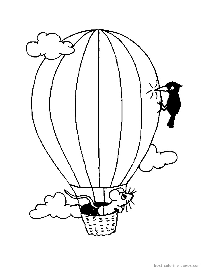 Balloon Template Printable