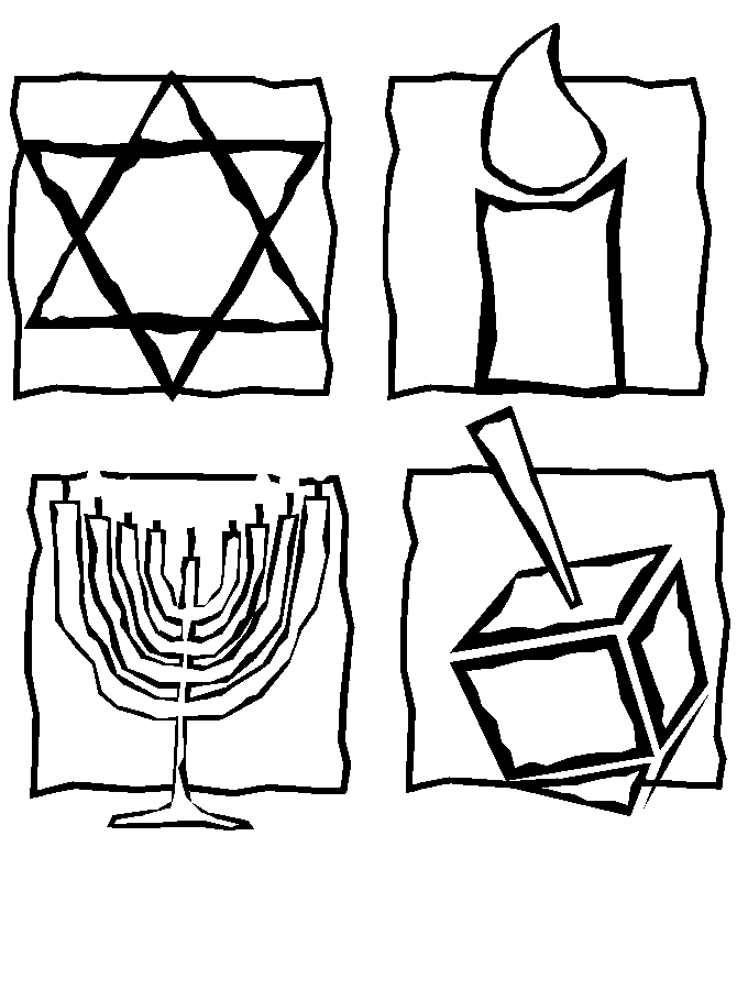 Jewish Coloring Pages Coloring Home