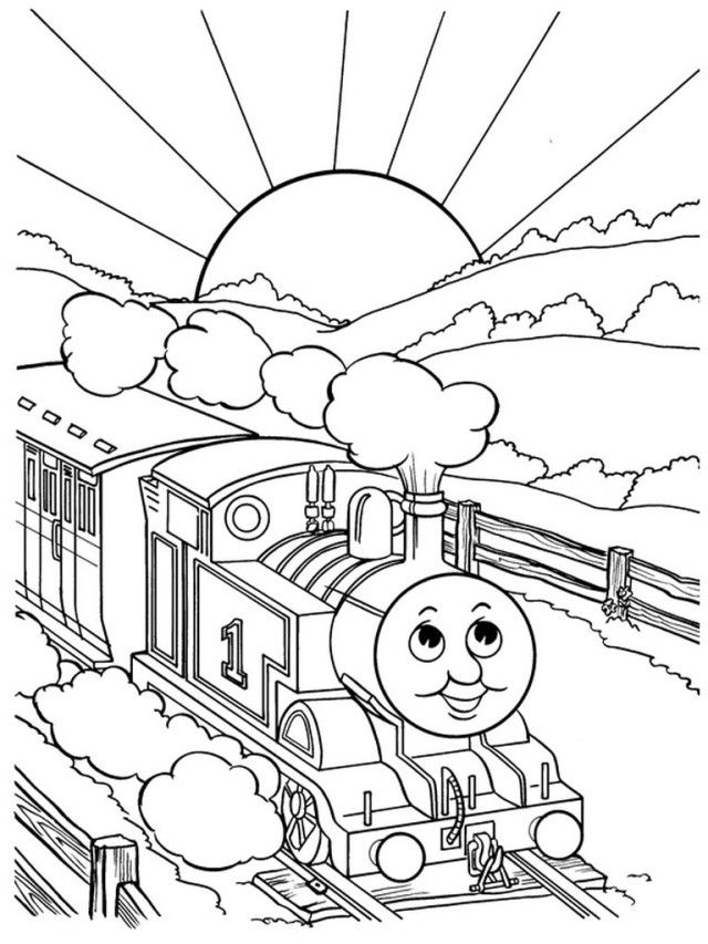 Printable train tracks az coloring pages for Track coloring pages