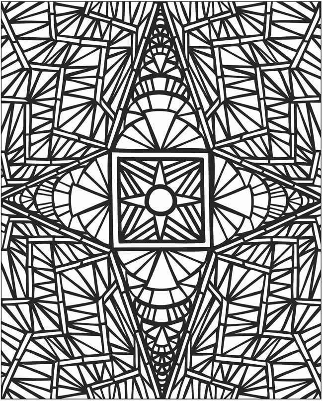 easter mosaic coloring pages - photo#10