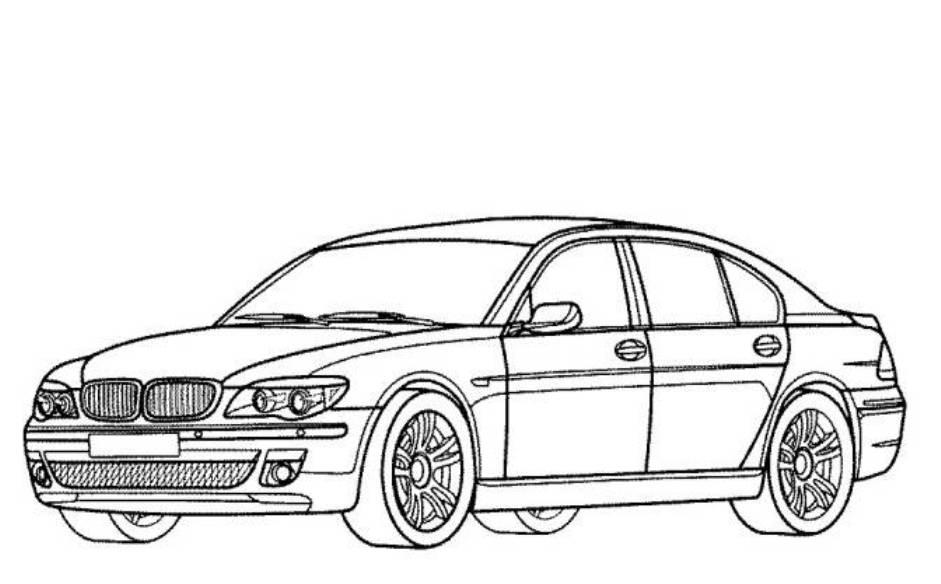 Cars X Xd Luxury Concept Car Coloring Page Free Printable