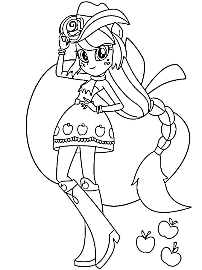 Pony Equestria Girl Coloring Android Rakendused Teenuses Google Play Coloring Home
