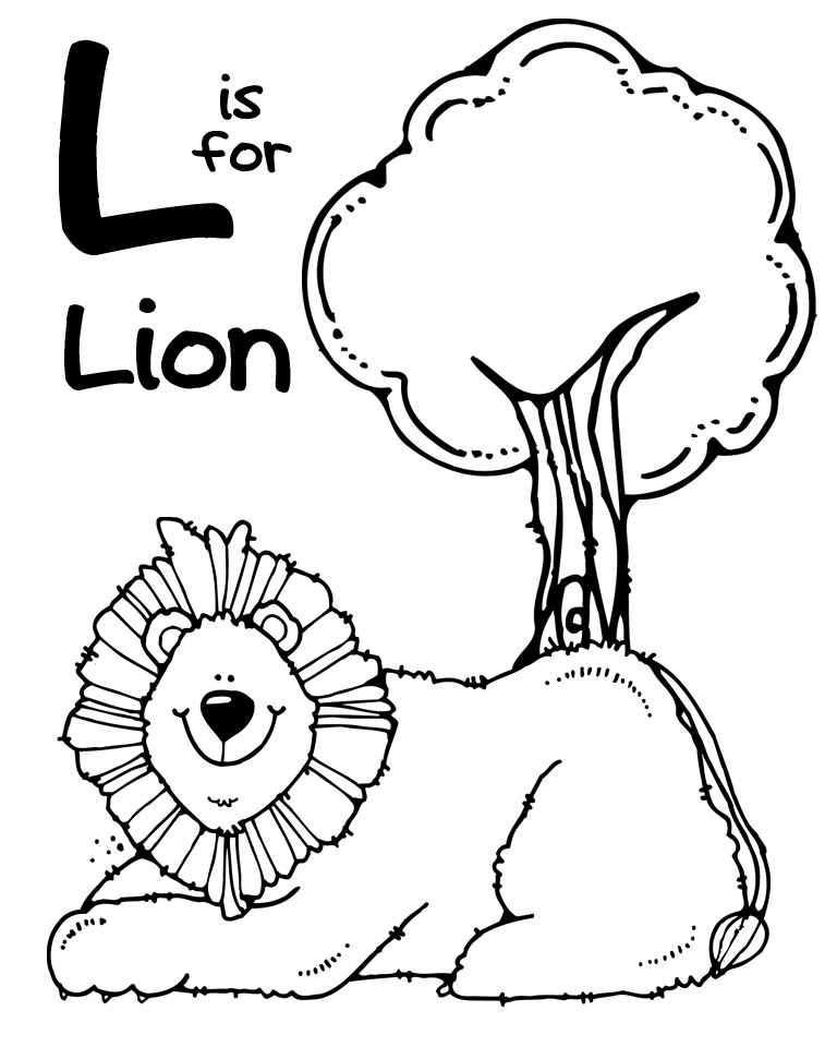 l coloring pages - photo #36