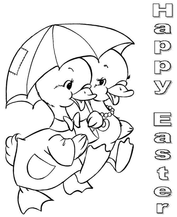 Easter chick coloring pages az coloring pages for Easter coloring pages for boys