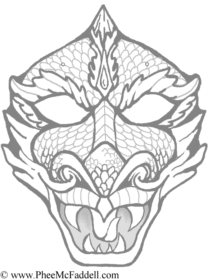 Coloring Pages For Adults Masks : Mardi gras coloring pages for kids home