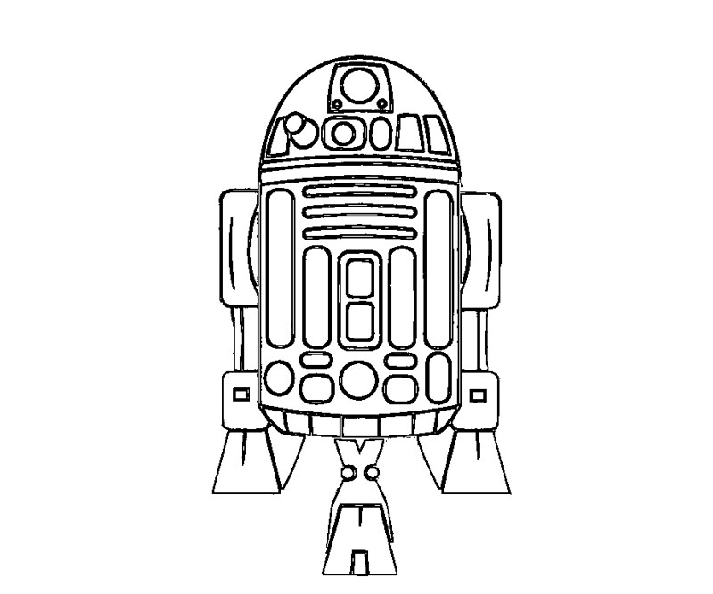 Free Coloring Pages Of C3po Lego C3po Coloring Page