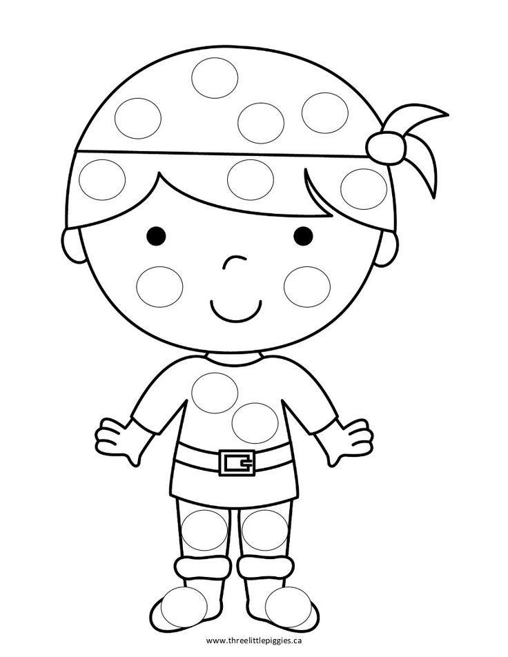 bingo dot coloring pages - photo#14