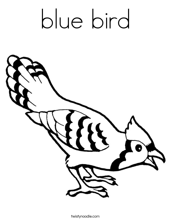 Bird Nest Coloring Page - Coloring Home
