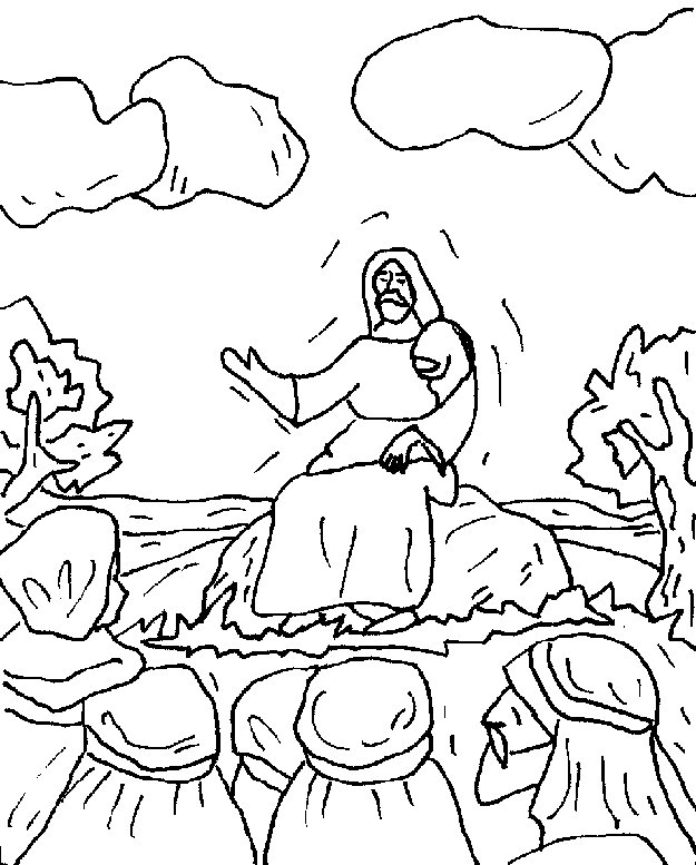 coloring pages luke 7 - photo#33