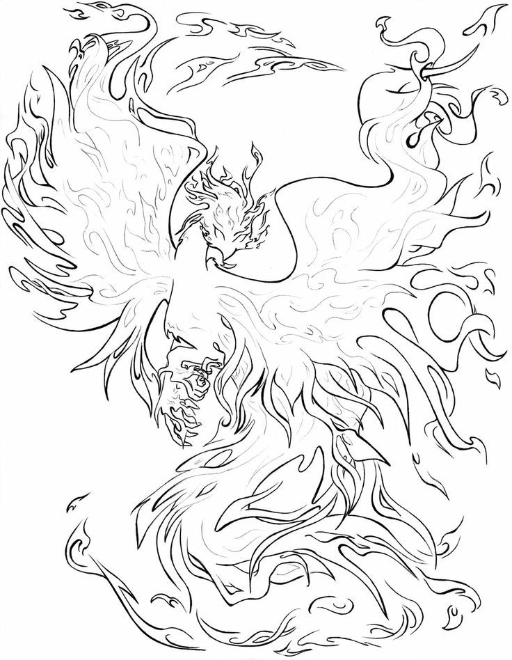complex coloring pages of dragons - photo#21