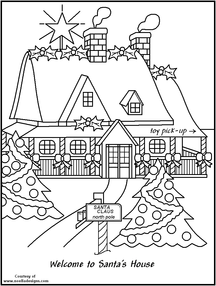 White House Coloring Page - AZ Coloring Pages