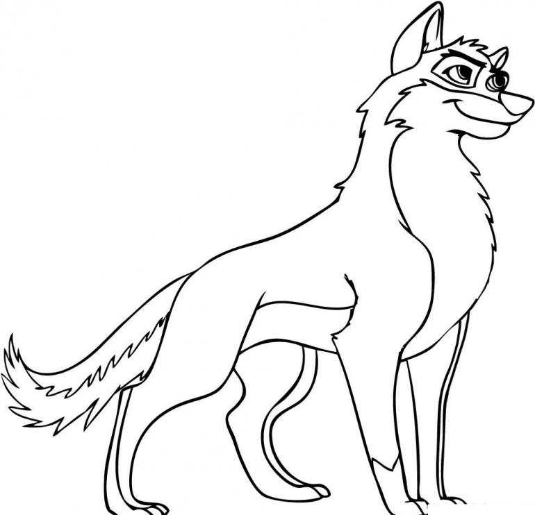 Coloring Pages Of Wolves - AZ Coloring Pages