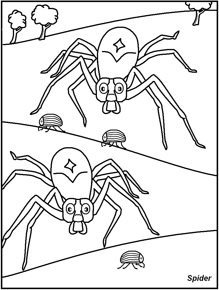 Coloring Pages Of Insects