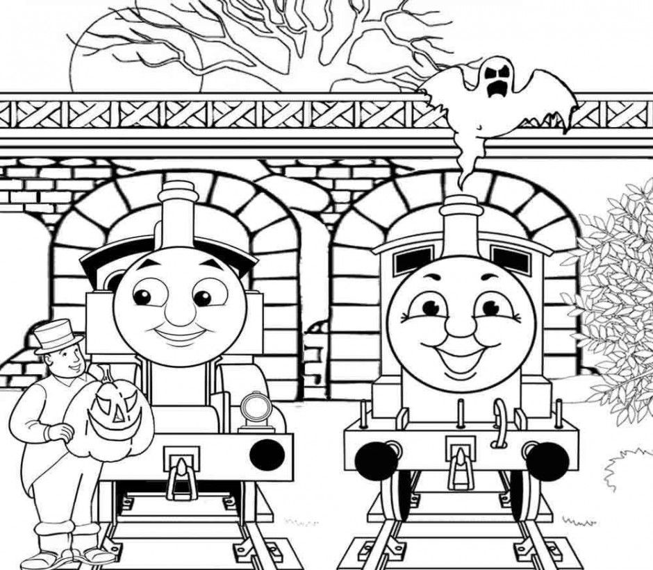 Thomas And Friends Be Happy Coloring For Kids Thomas Amp Friends