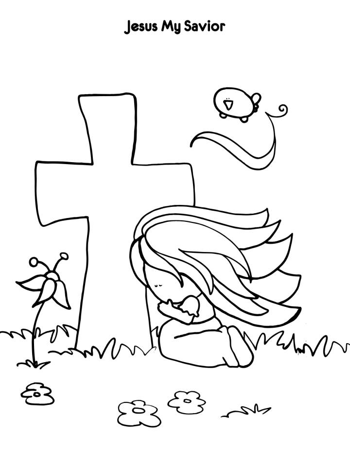 friends of jesus coloring pages - photo#19