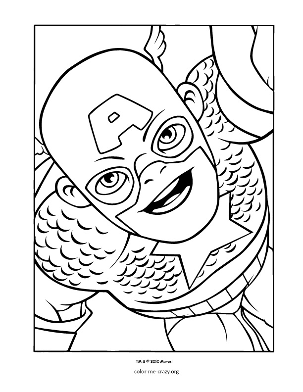 Super Hero Squad Coloring Pages Free Az Coloring Pages Squad Coloring Pages To Print