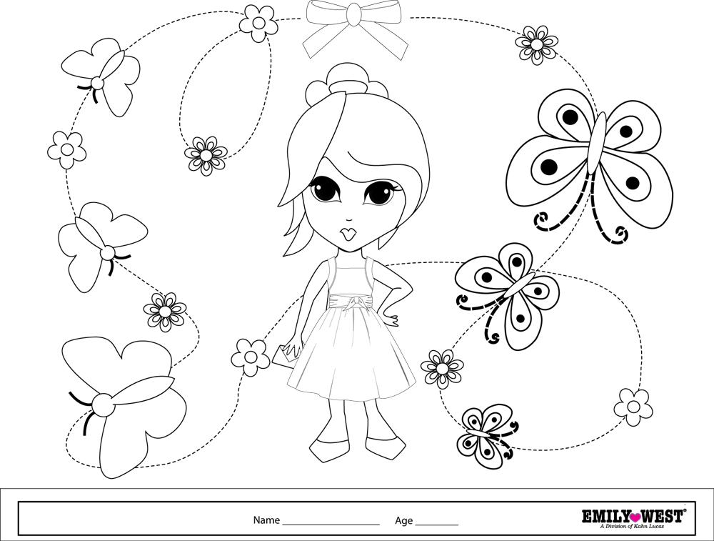 bff pictures coloring pages - photo #9