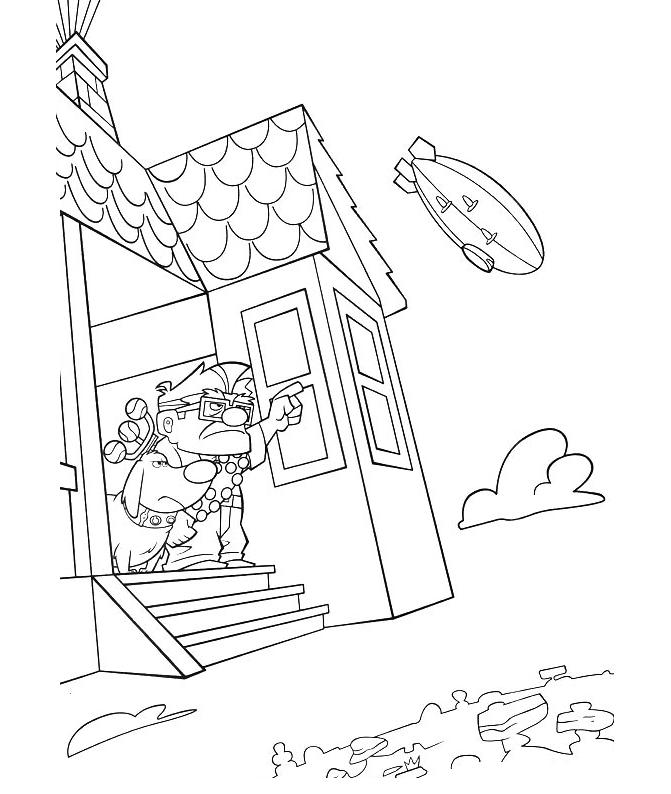 up movie Colouring Pages