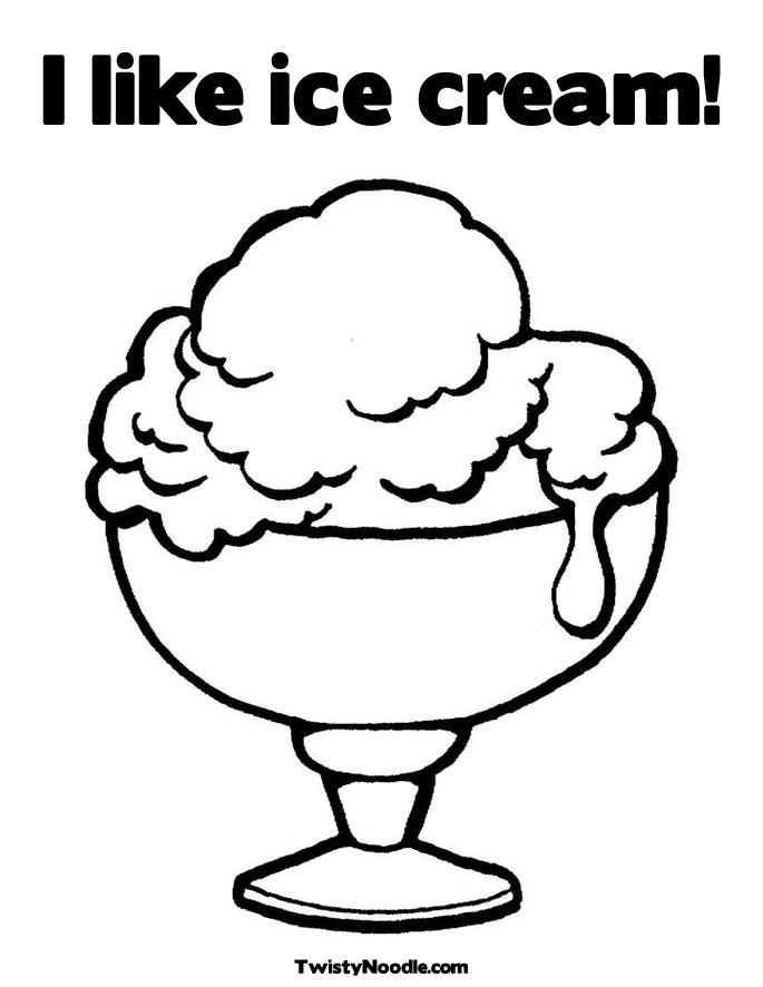 waffle coloring page - ice cream cone coloring pages coloring home