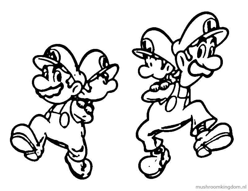 coloring pages nintendo characters - photo#19