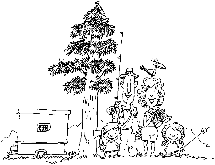 outdoor coloring pages - photo#8