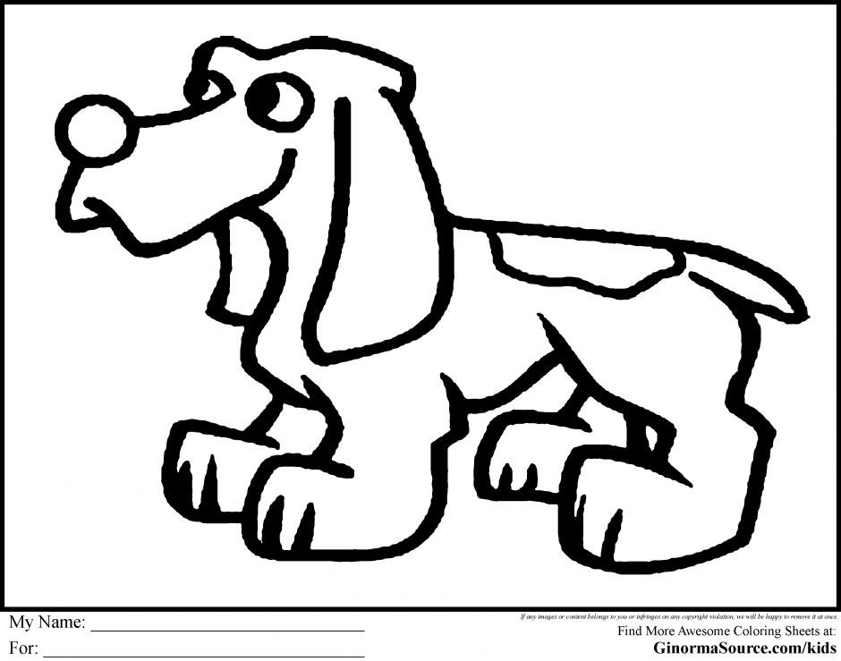 Puppy Coloring Pages Pdf : Puppy printable coloring pages love