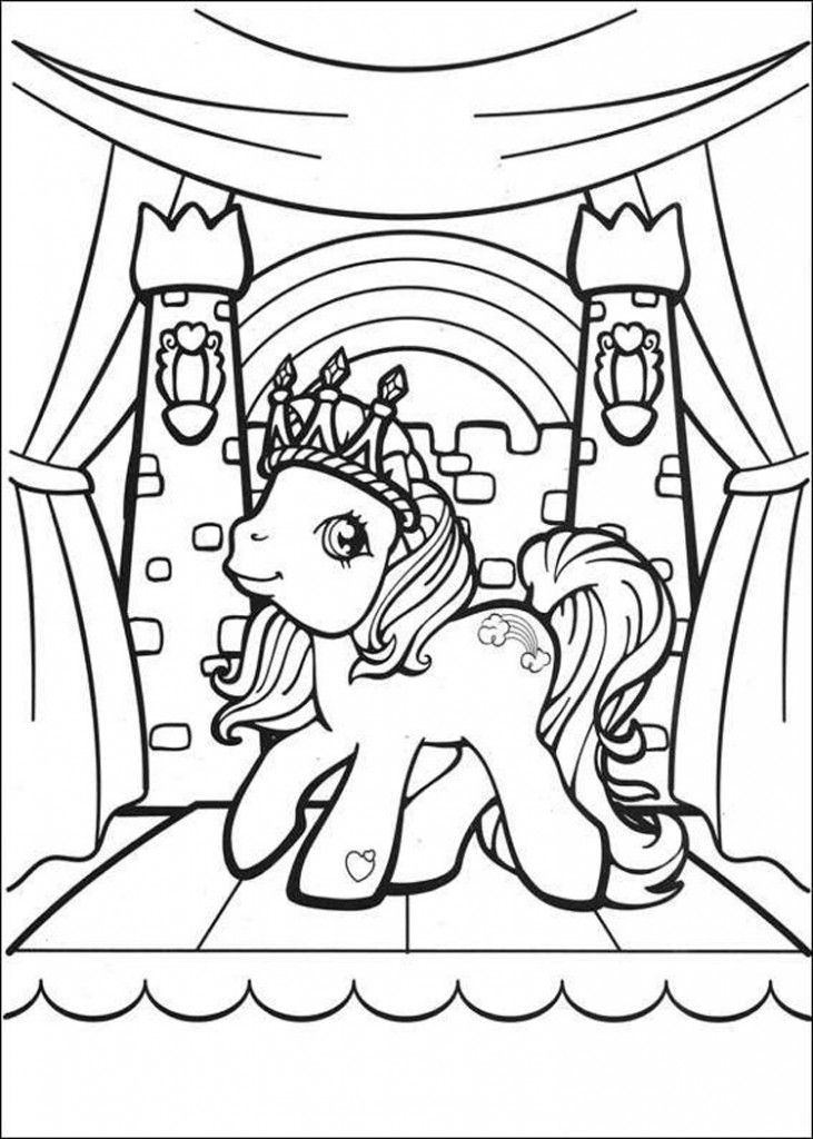 My Little Pony Coloring Pages MLP for Kids - Free Printable