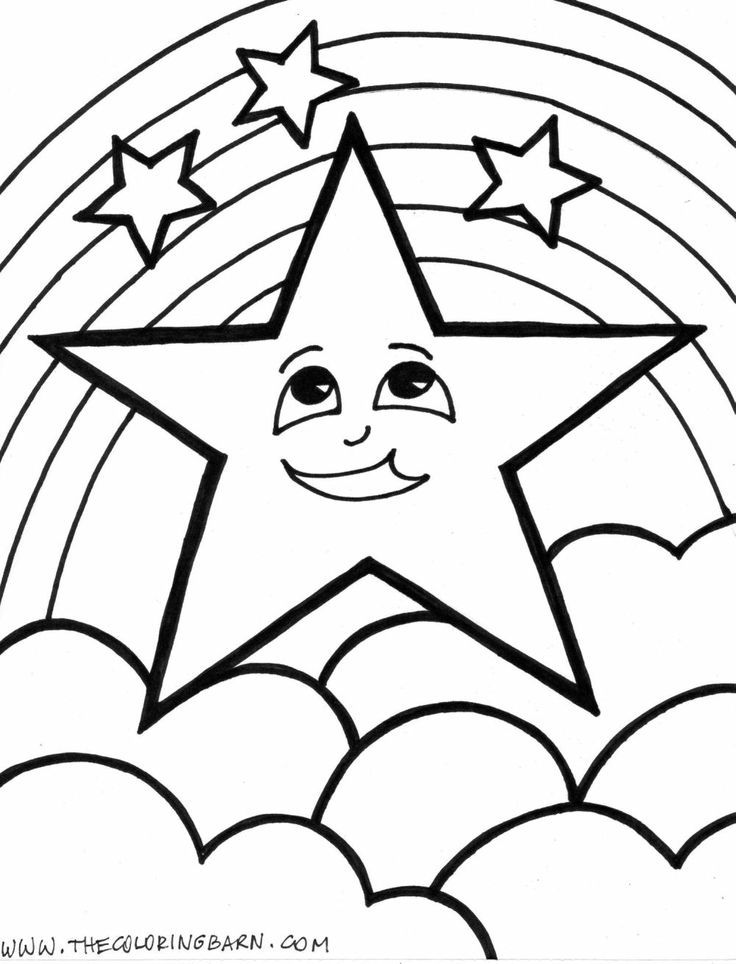 Star shape images coloring home for Star shape coloring page
