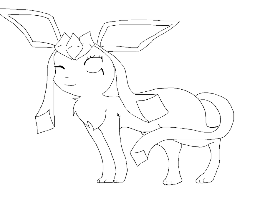 leafeon coloring pages - photo#15