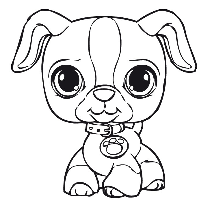 littlest pets shop coloring pages - photo#4