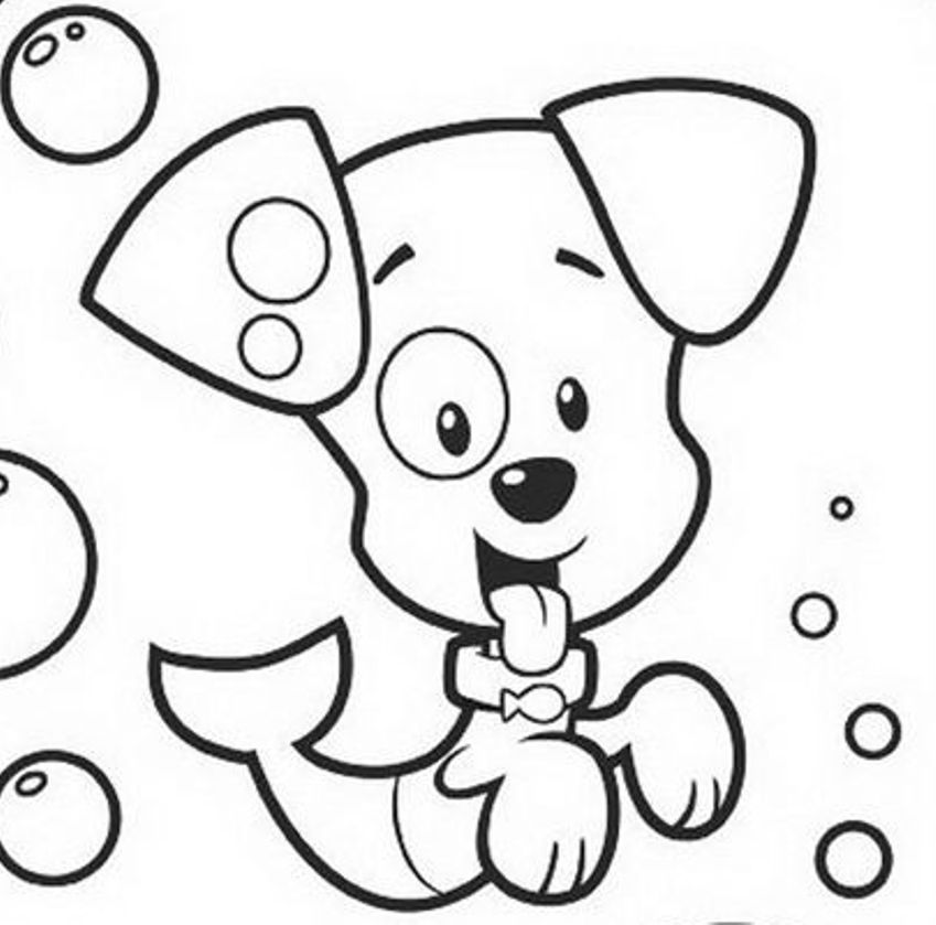Download Puppy Bubble Guppies Coloring Pages Or Print Puppy Bubble