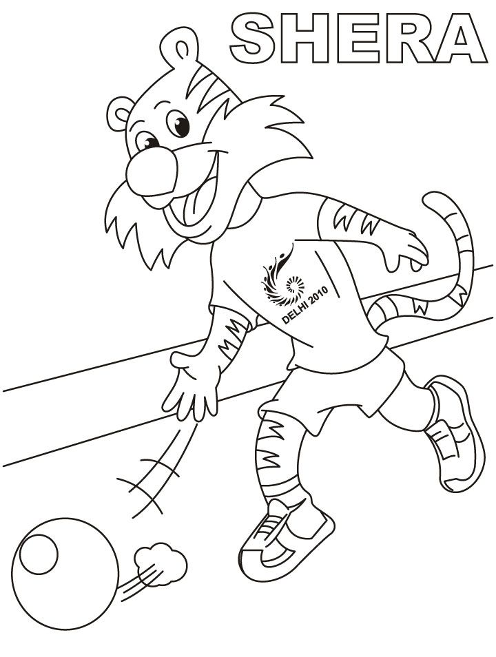 shera playing lawn bowling coloring page download free shera - Bowling Pictures To Color