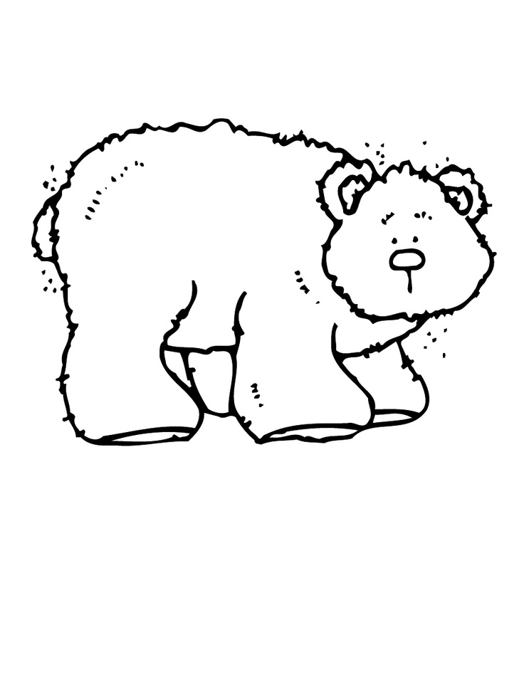 Brown Bear Printables Az Coloring Pages Brown Book Coloring Pages