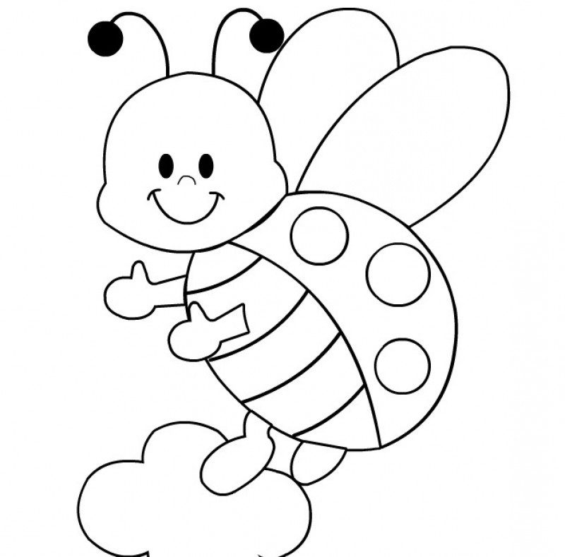 Printable ladybug coloring pages az coloring pages for Coloring pages of ladybugs