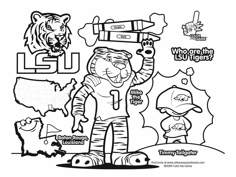 auburn tigers coloring pages - photo#8