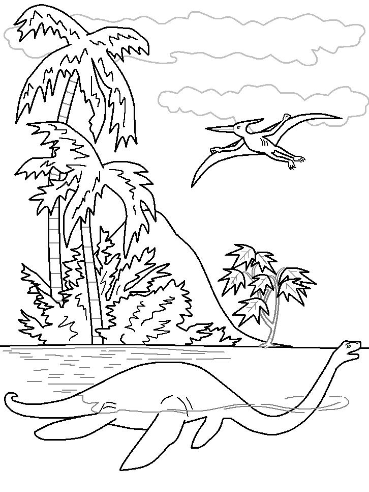 Velociraptor Coloring Page AZ