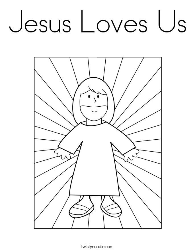 Loves me Colouring Pages