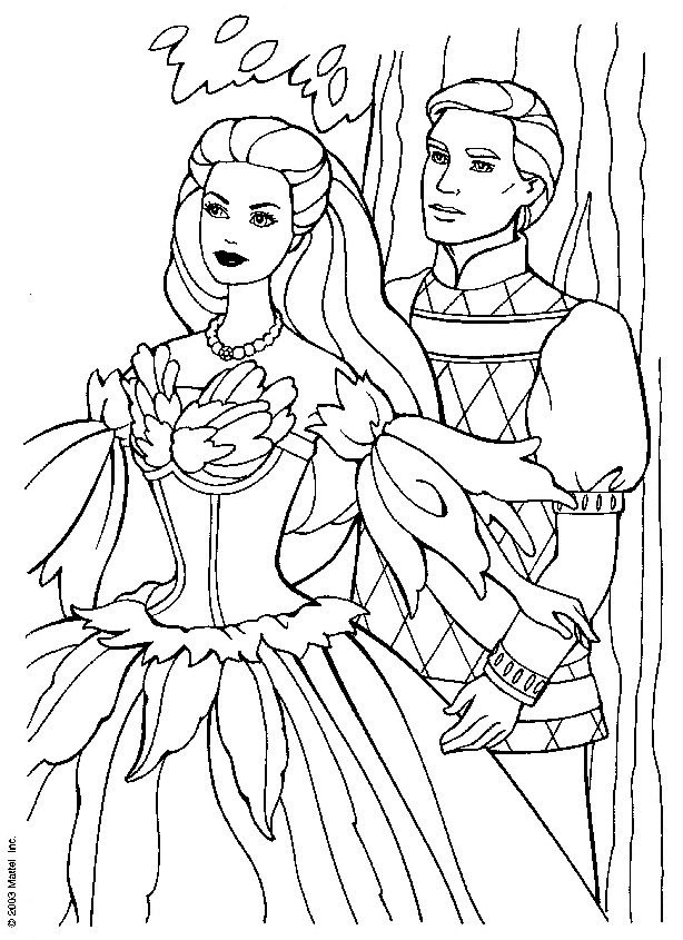 barbie coloring pages full size - photo#3