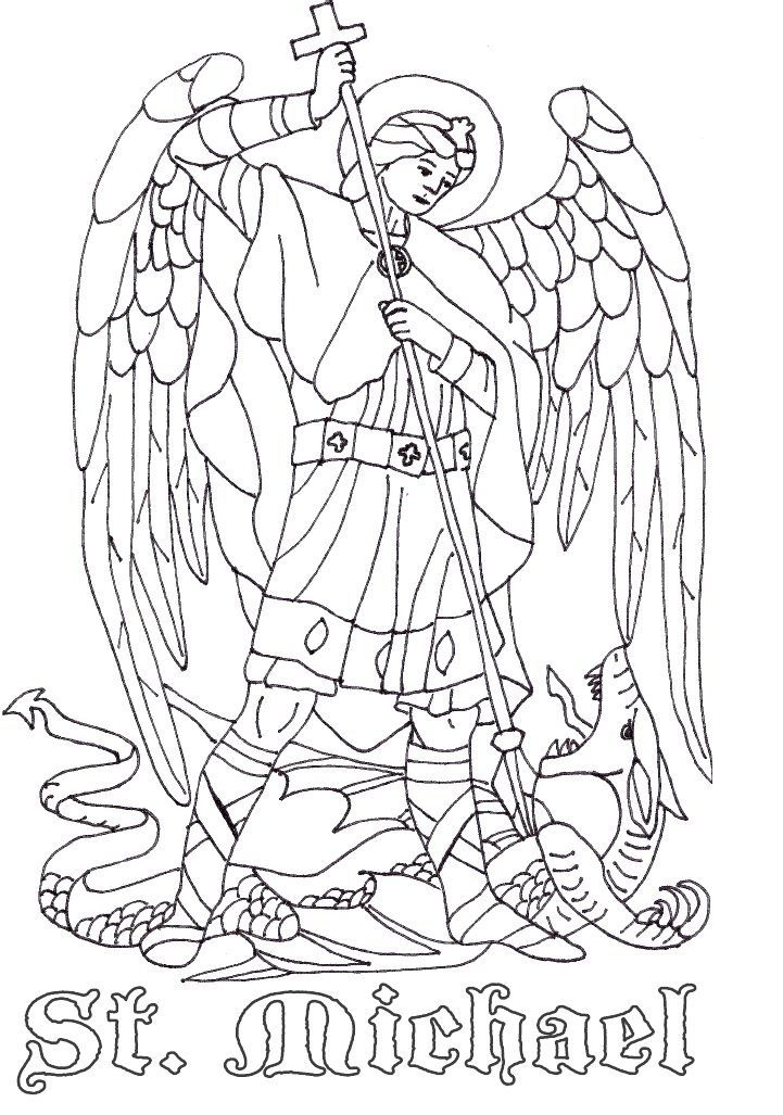 Pin by Jennifer Fair-Graham on Saints Coloring Pages