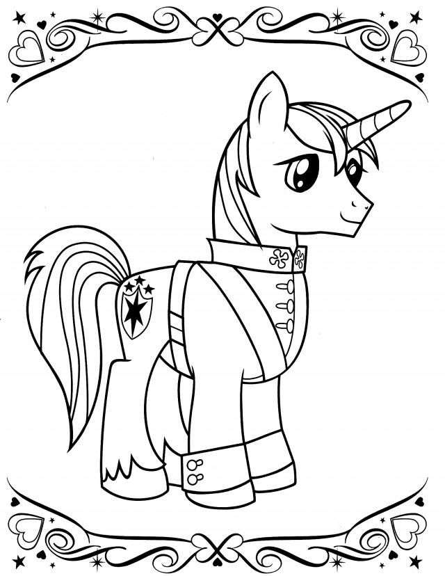 My Little Pony Coloring Game