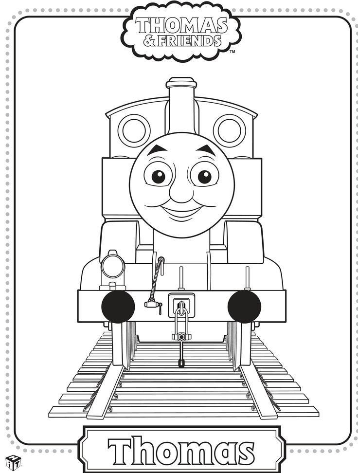 Thomas and Friends Coloring Page | Caleb