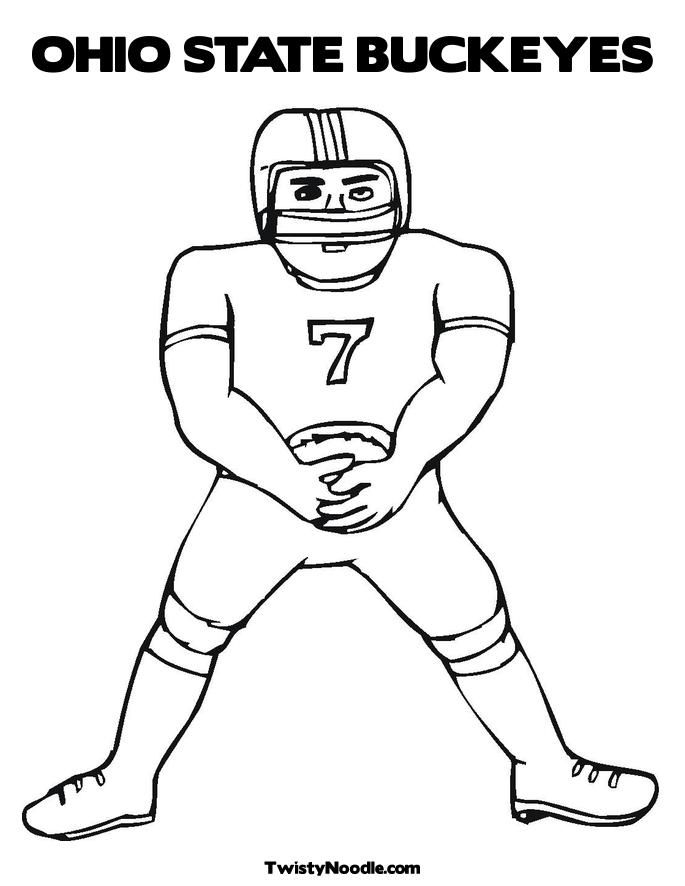 ohio state coloring pages free - photo#9