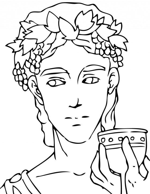 Greek Mythology Coloring Pages Greek Mythology Coloring Pages