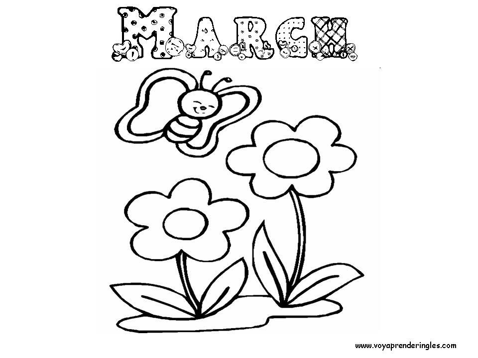 March Coloring Pages Printables For Kids Coloring Home