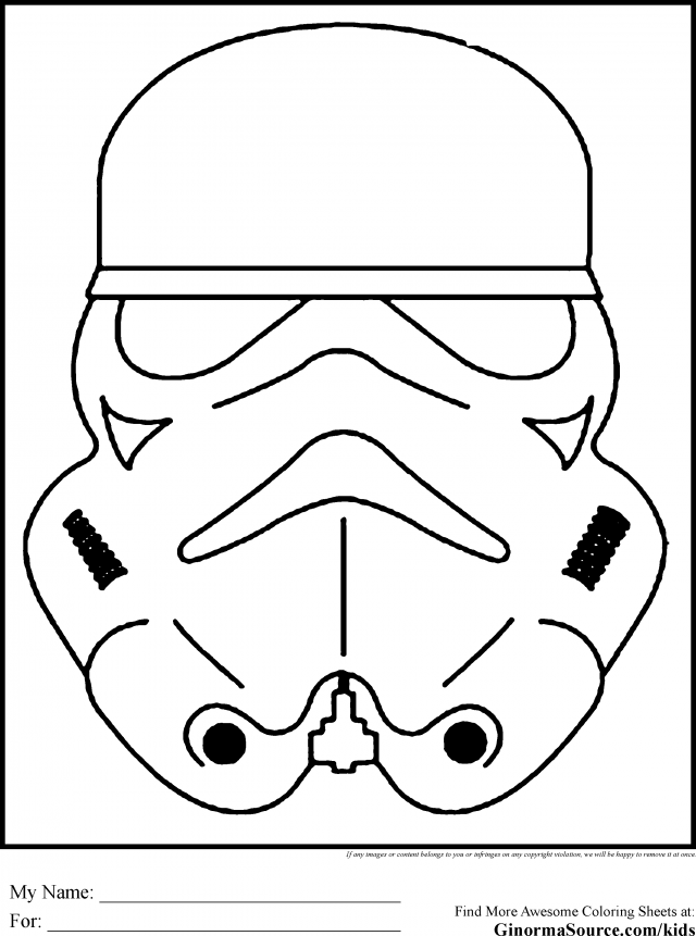 Stormtrooper Coloring Pages 76964 Label Free Stormtrooper ...