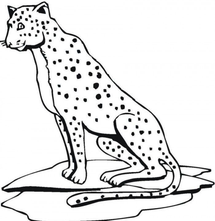 Jaguar Mask Coloring Pages | 99coloring.com