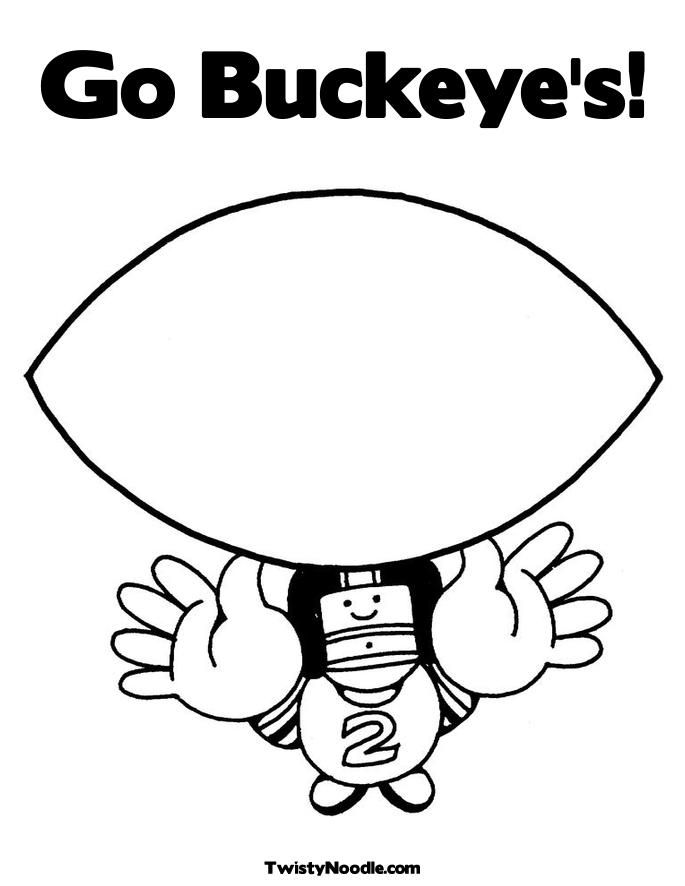 ohio state buckeyes coloring pages - photo#21