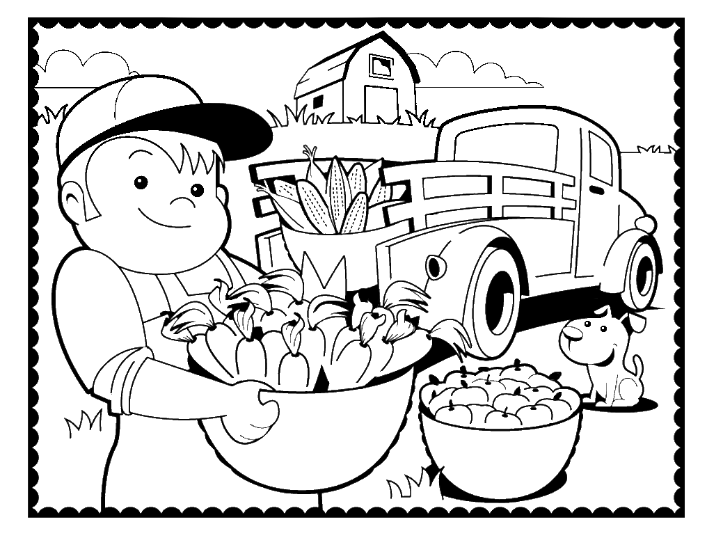 farm coloring pages and book uniquecoloringpages country coloring pages auromas